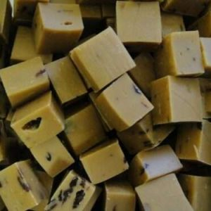 caramel nu fudge rhum-raisin (ne colle pas aux dents)