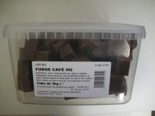 caramel nu fudge café (ne colle pas aux dents)