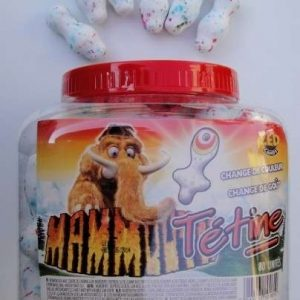 mammouth tétine gum