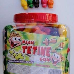 magic tétine gum fourré poudre acidulé