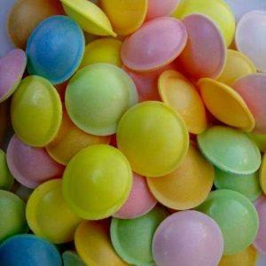 cachet poudre soucoupe bonbon