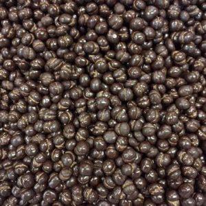 Grain de café enrobé chocolat noir remise 10% par 3 kg.