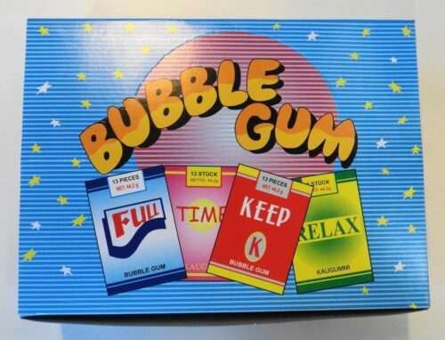 Cigarette Chewing-Gum